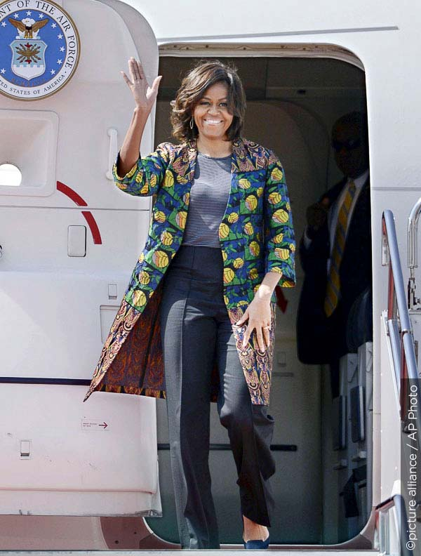Michelle Obama stylish as always