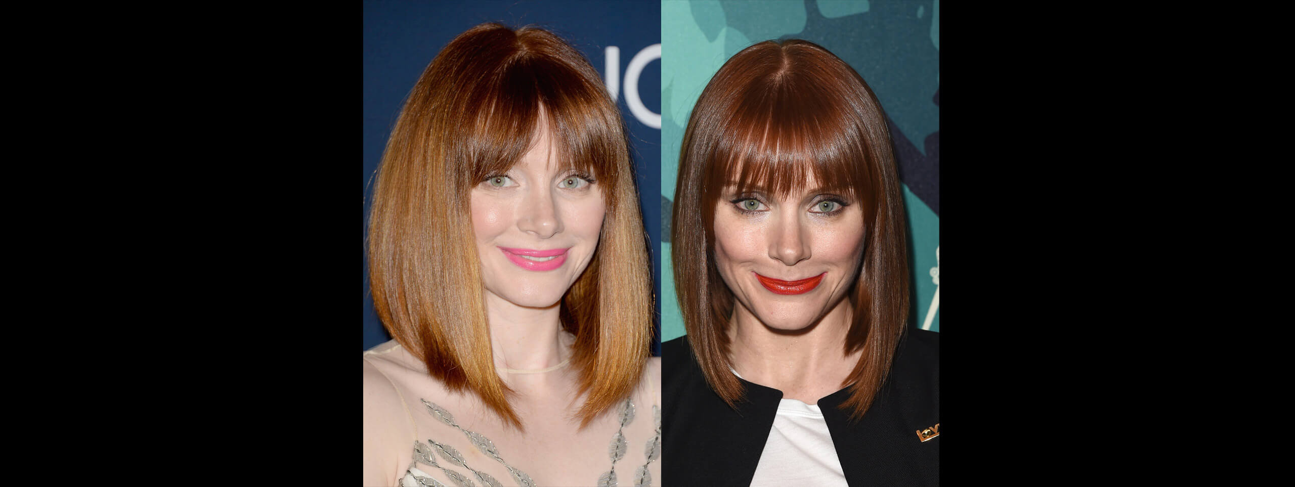 Bryce Dallas Howard with a bob hairstyle for women