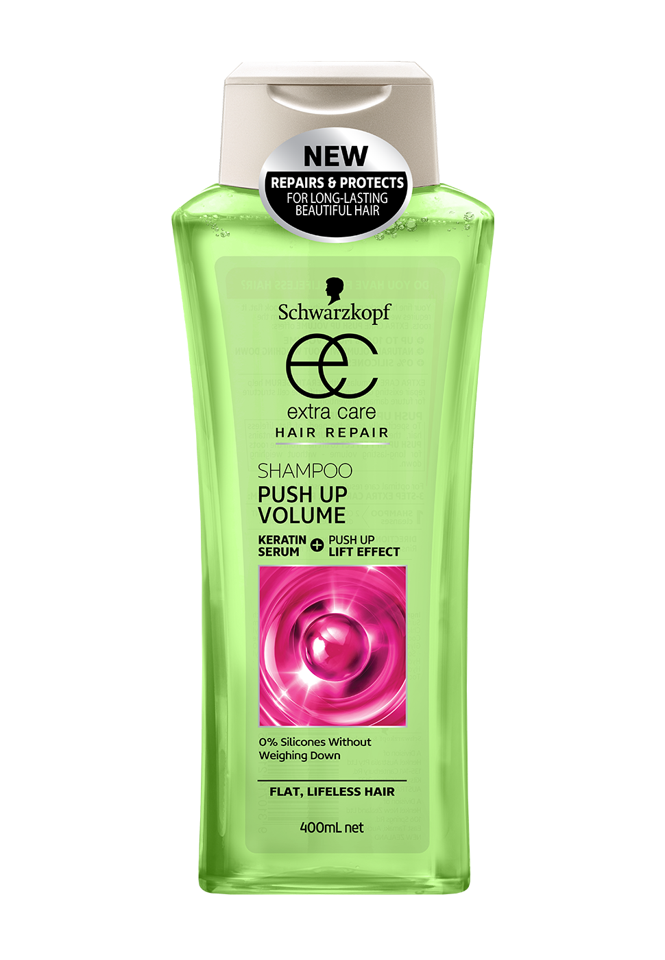 CarePushUpVolumeShampoo400ml
