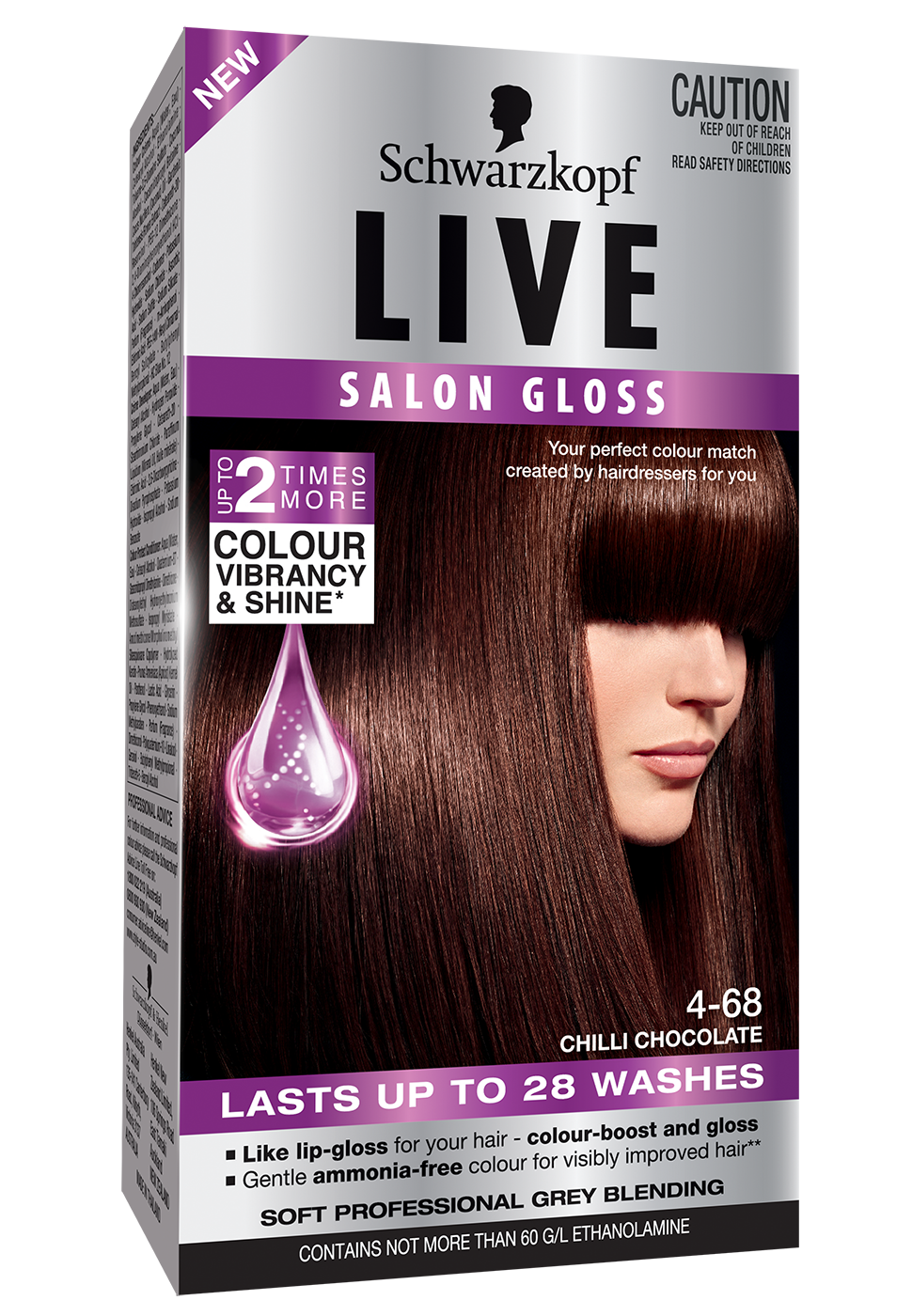 297LIVESalonGloss3DLF468ChilliChocolate