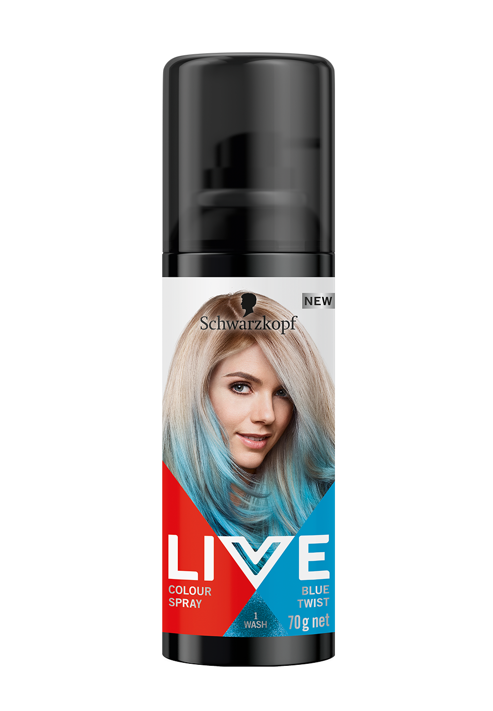 CareLiveColourSprayBlueTwist