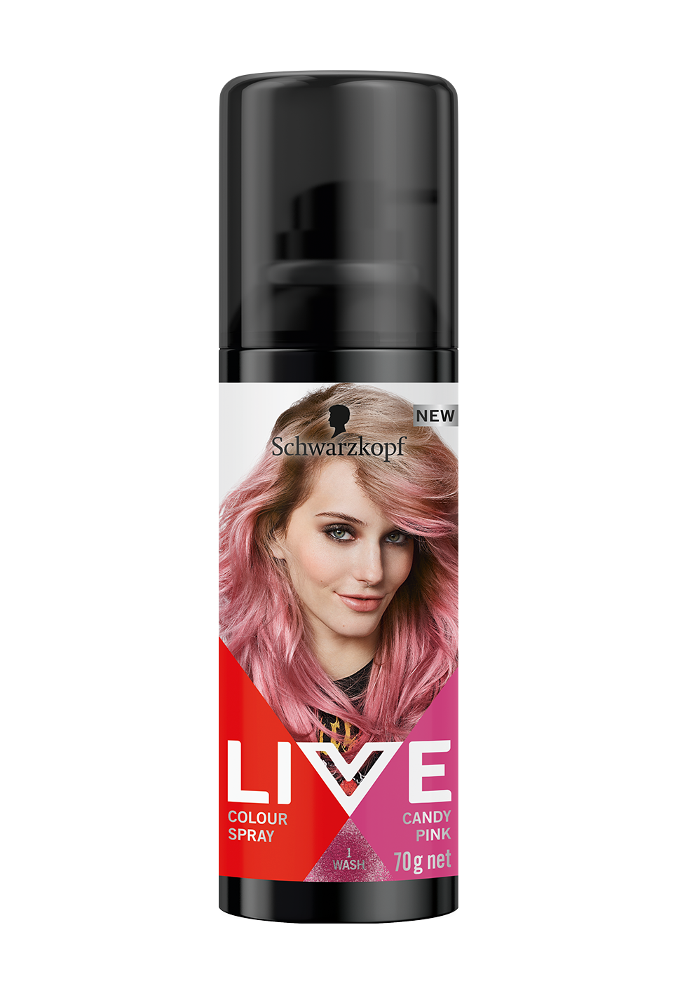CareLiveColourSprayCandyPink