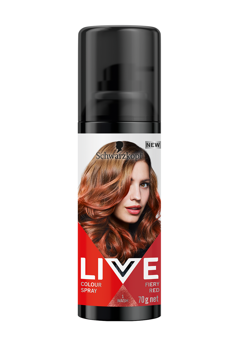 CareLiveColourSprayFieryRed