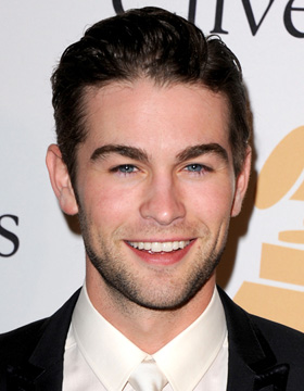 Men's Hairstyles: Chace Crawford with Gelled Shag
