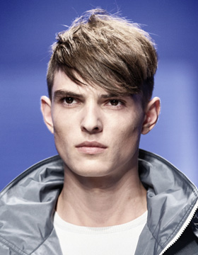 2014 Hairstyles for Men: Salvatore Ferragamo