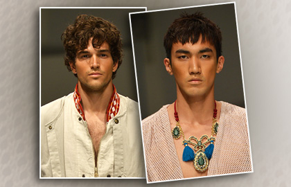 Hairstyles for Men on the Catwalks