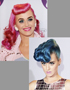 Hairstyles of Stars: Katy Perry