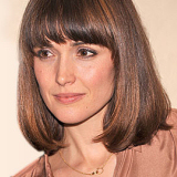 Rose Byrne Wearing her Long Bob with Fringes