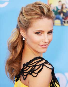 Dating Hairstyles: Dianna Agron