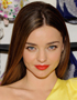 Hairstyle with Parting: Miranda Kerr