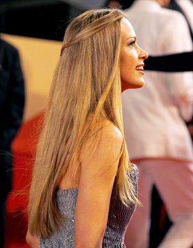 Hairstyles in Cannes: Petra Nemkova