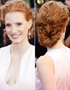 Hairstyles in Cannes: Jessica Chastain again