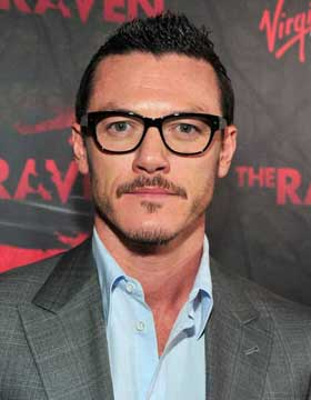 Luke Evans with Glasses